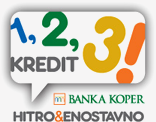 Kredit 1, 2, 3 - banner